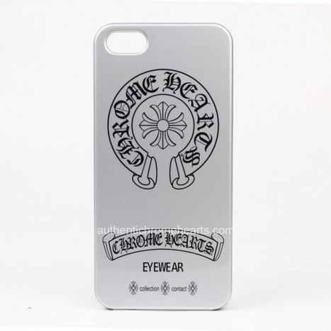 Cross and Black Big Horseshoe Printd Silver iPhone 5 Case by Chrome Hearts [Chrome Hearts iPhone Cases] - $89.00 : Authentic Chrome Hearts | Chrome Hearts Online | Boutique | Scoop.it