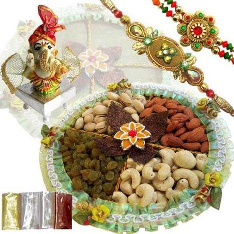 Rakhi with Dryfruits Online | Rakhi with Dryfruits | Scoop.it