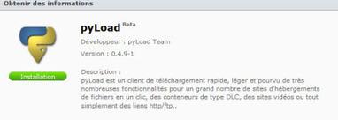 Module pyLoad pour Nas Synology DSx09+ et DSx10+ | Autour de... Sam | Nas et réseaux | Scoop.it