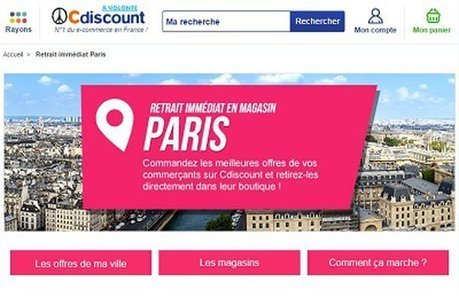 Cdiscount lance à Paris son service de disponibilité immédiate | Digital & eCommerce | Scoop.it
