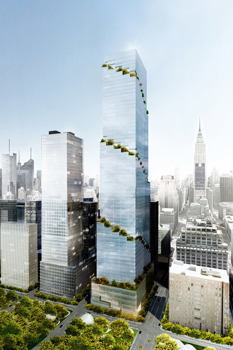 New York - BIG unveils design of The Spiral office tower   L'usager dans la construction durable   Scoop.it