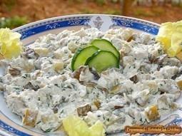 Salata de pui cu ciuperci | Food and recipes | Scoop.it