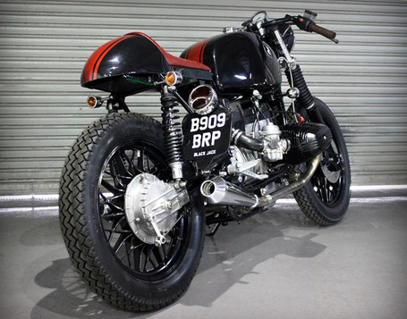 Kevils BlackJack R80 | the Bike Shed | vintage motos | Scoop.it