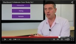 Blackboard Collaborate – Video Case Study 1 of 3 | The Learning Edge | computer mediated communication | Scoop.it