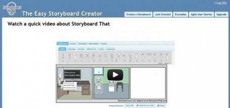 Storyboard That, crea historietas con personajes y escenas a partir de plantillas | english for little kids | Scoop.it