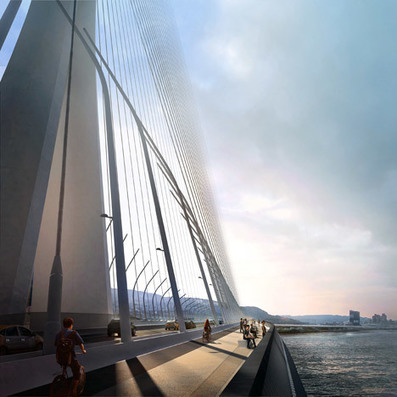 Zaha Hadid wins Taipei Tamsui River bridge contest | The Architecture of the City | Scoop.it
