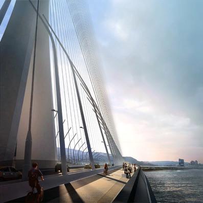Zaha Hadid wins Taipei Tamsui River bridge contest | The Architecture of the City | Scoop.it
