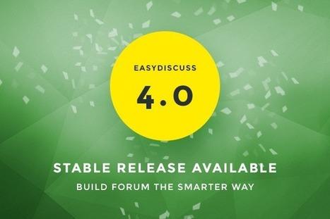 EasyDiscuss 4 Stable Release | Just Joomla! | Scoop.it