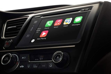 Apple's CarPlay puts iOS on your dashboard | Nerd Vittles Daily Dump | Scoop.it