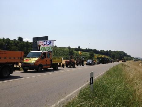 Fessenheim Super-Gau Evakuierung | EvakuierungsÜbung Gelungene Protestaktion für die Stilllegung des AKW Fessenheim | Scoop.it