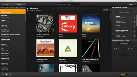 Amazon's Cloud Player App Streams, Syncs, and Plays Your Music Offline | Music | Scoop.it