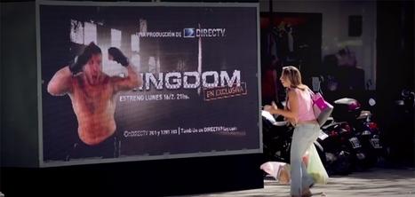 Un affichage publicitaire qui s'attaque aux passants pour promouvoir une série | Marketing Communication | Scoop.it