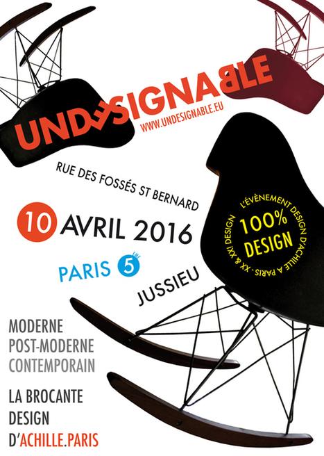 la Brocante Design d'Achille dans les rues de Paris | Expert CEFA Benoit Ramognino | CEFA | Scoop.it