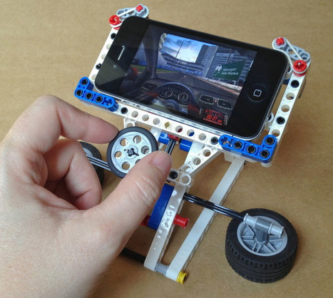 Make your own Phone Racer – iPhone Gaming Stand Simulator | Techagram | Techagram-technology-news | Scoop.it