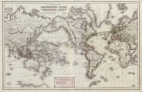1871 plans map out the first circuit of the globe by telegraph | Research_topic | Scoop.it