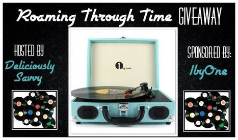 Roaming Through Time Portable Turntable Giveaway - Work Money Fun | Giveaway, Contest, Sweepstakes, Coupons and Deals | Scoop.it