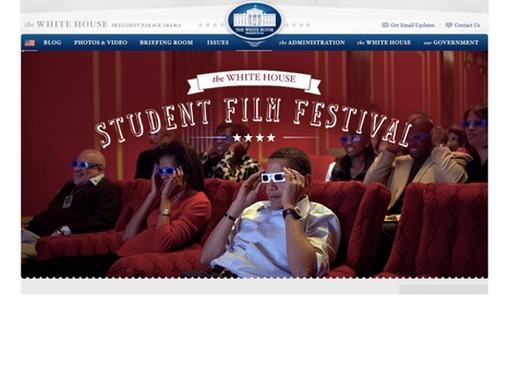 Student Film Festival | The White House | Creative Publishing Tools and Resources for Education | Scoop.it