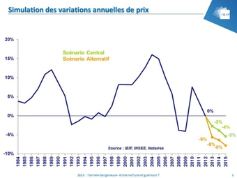 IMMOBILIER : LES DEUX SCENARIOS DE BAISSE DES PRIX | Immobilier | Scoop.it
