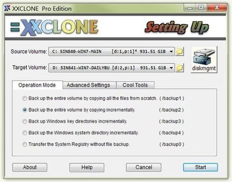 XXClone Freeware, utilidad gratuita para clonar el disco y salvar tus datos | Sitios y herramientas de interés general | Scoop.it