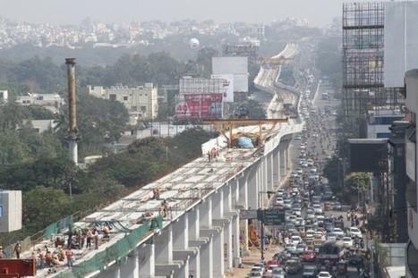 En Inde, le chantier titanesque d'un métro aérien - Transport et infrastructures | IndianSide | Scoop.it