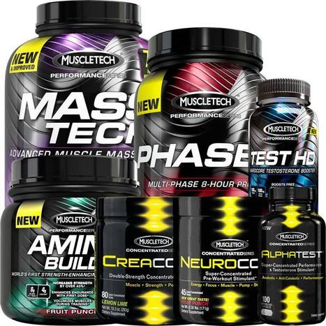 MuscleTech Performance Series: Seriously Effective Supplements | ✪ FITNESS MAGAZINE ✪ | Scoop.it