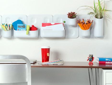 Comment garder son bureau rangé ? | DecoCrush blog déco, idées déco | décoration & déco | Scoop.it