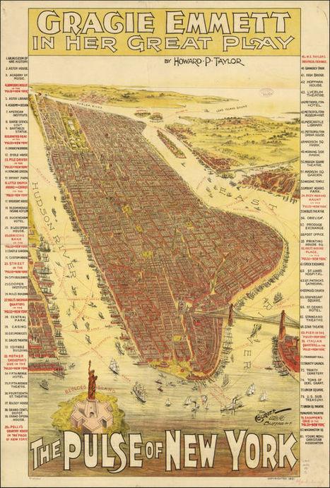 11 Bird's-Eye Views That Show How NYC Has Grown Over 350 Years | Aardrijkskunde | Scoop.it