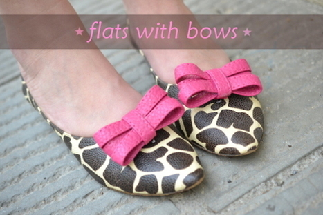 DIY Flats With Bows | Crafts | Scoop.it