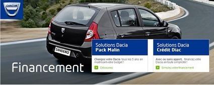 Crédit Dacia classique auto Pack Malin Dacia LOA Diac | Mon Compte | Scoop.it