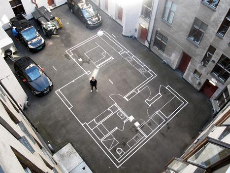 Con estos dibujos a escala real, Vardehaugen te permite caminar en sus planos | Participatory & collaborative design | Diseño participativo y colaborativo | Scoop.it