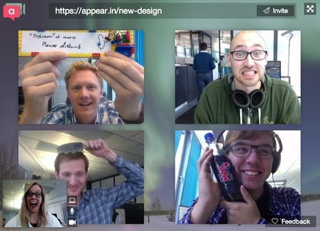 Appear.in Le plus simple outil de videoconference | Time to Learn | Scoop.it