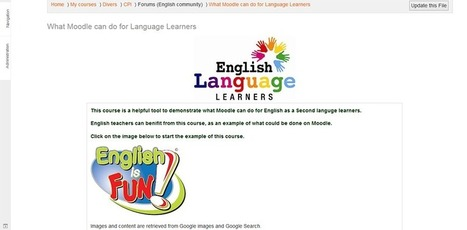 Démystifier Moodle pour transformer les apprentissages  Profweb | Langues et TICE | Scoop.it