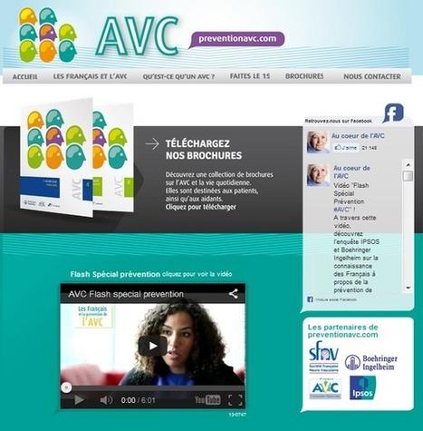 Prevention AVC : site web d'information sur les accidents vasculaires cérébraux | E-santé | Scoop.it