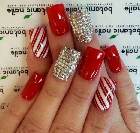 Christmas nails design 18 – Picturing Images | Fashion Home decor Tattoos Beauty Pictures | Scoop.it