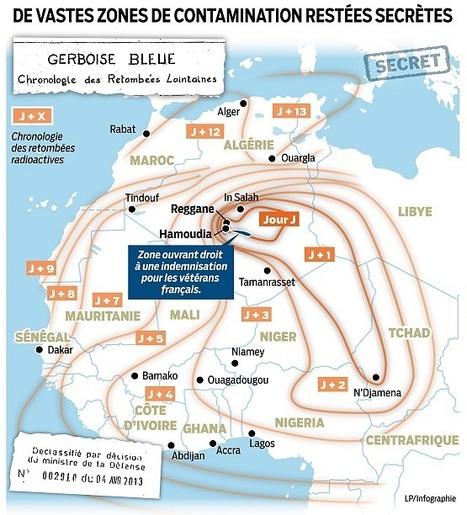 Le document choc sur la bombe A en Algérie | Intervalles | Scoop.it