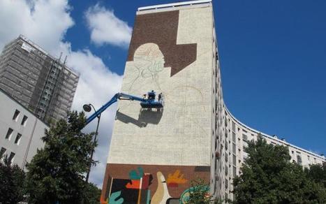 Sa fresque géante se verra depuis le périph' - Le Parisien | Revue de Web par ClC | Scoop.it