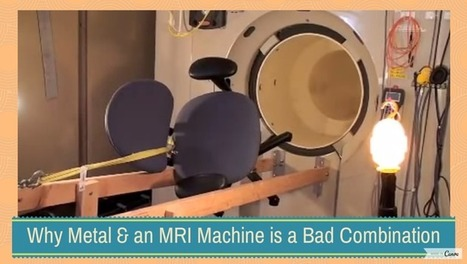 Why metal near an MRI machine is a very, very bad idea [video] - Holy Kaw! | supraconductivité | Scoop.it
