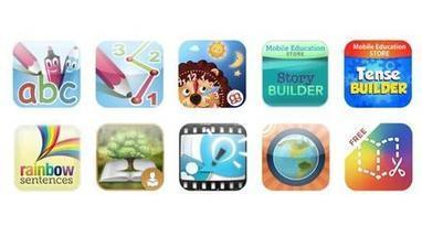 10 of the best Educational Apps for the iPad and iPhone - Features | Edtech PK-12 | Scoop.it