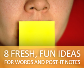 Don't Get Stuck in a Vocabulary Rut: 8 Fresh, Fun Ideas for Words and Post-It Notes   ESL Vocabulary   Scoop.it