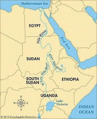 Satellite data measures Nile water for region security | Nile | Scoop.it