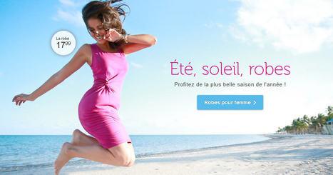 BonPrix Robe Femme pas Cher sur Bonprix.fr 1er Prix 17.99 € - Ventes-pas-cher.com | Code promo et Bon de reduction Ventes pas cher | Scoop.it