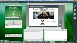 How to create a fun lobby for your webinar attendees in Adobe Connect - InteSolv   Adobe Connect   Scoop.it