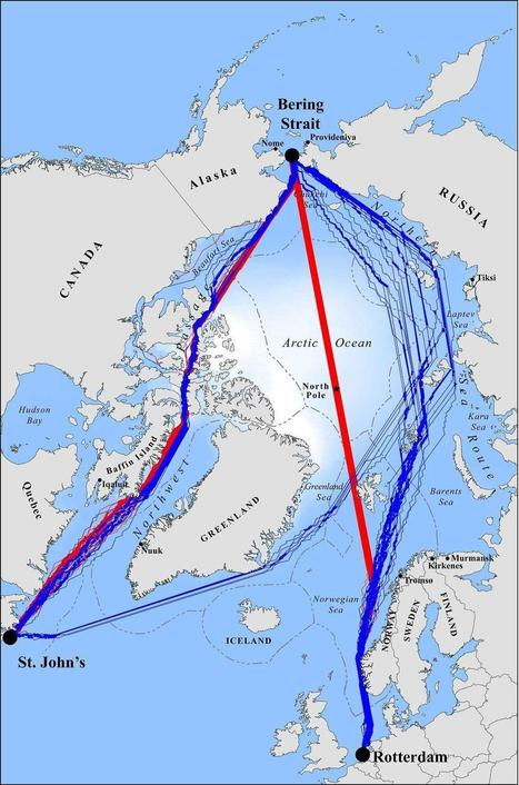 Global warming to open 'crazy' shipping routes across Arctic | Living with Climate Change | Scoop.it