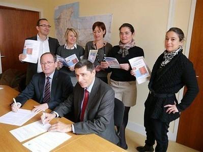 Un partenariat pour favoriser le développement du numérique , Dol-de-Bretagne 11/04/2013 - ouest-france.fr | Animation Numérique de Territoire | Scoop.it