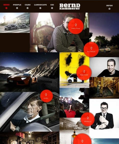 Découvrez 5 sites avec une navigation et un concept original #57 - webdesign-inspiration | Tips & Web Design | Scoop.it