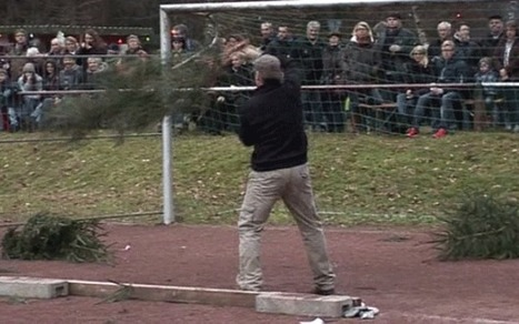 Christmas tree throwing world championships held in Germany | Quite Interesting News | Scoop.it