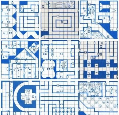Random Wizard propose un générateur de carte de donjons | Jeux_Malca | Scoop.it