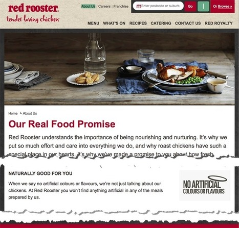 Red Rooster food chain accused of deceiving customers with 'nothing artificial' claims | Business Studies: BROB | Scoop.it