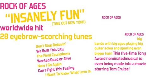 Website Today #2: About » Rock of Ages - Broadway's Best Party | 1930's: Great Depression Music | Scoop.it