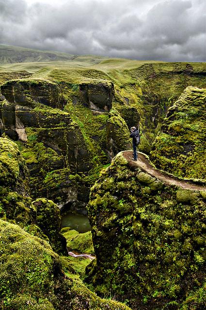 Fjaðrárgljúfur Canyon in Iceland | Backyard Gardening | Scoop.it